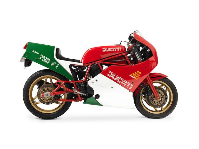 c.1985 Ducati 750 F1 Frame no. ZDM750R 7500001 Engine no. ZDM750L 7500026