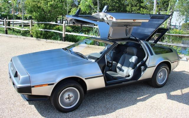 1981 DeLorean DMC12 Coupé  Chassis no. SCEDT26T4BD005175