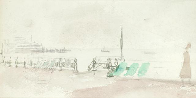 Mary Potter (British, 1900-1981) Sea Front, Brighton