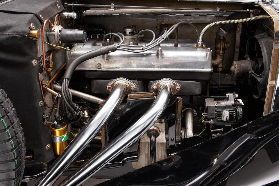 Autrefois propriété de Betty Haig,Frazer Nash  TT Replica Shelsley Sports 1935