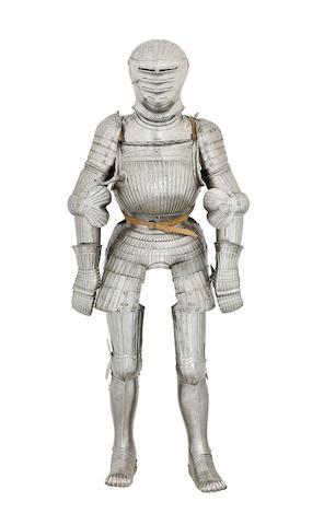 A Rare German Composite 'Maximilian' Full Armour