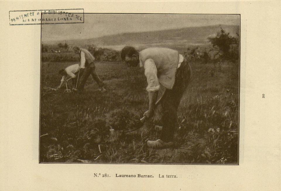 Laureano Barrau Buñol (Spanish, 1863-1957) La terra