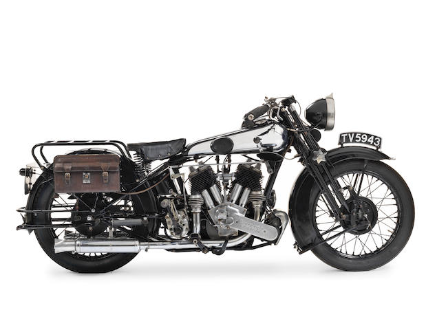 1932 Brough Superior 981cc SS80 De Luxe Frame no. 1170 Engine no. KTCS/H 9673/SL