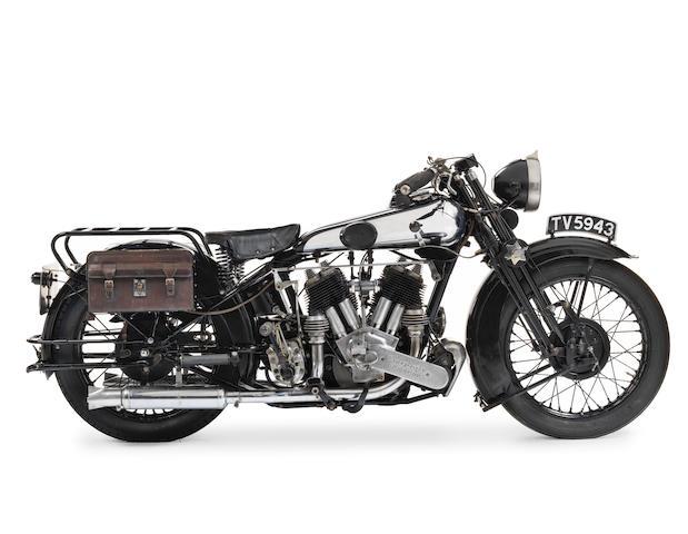 1932 Brough Superior SS80 De Luxe