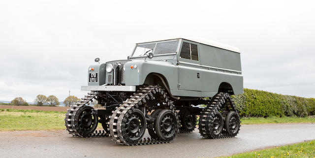 1958 Land Rover 109 Series 2 'Cuthbertson'  Chassis no. 151900157