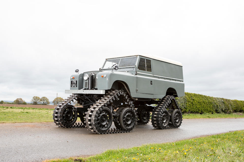 "1958 Land Rover Series II 109"" Cuthbertson Tracked Utility Vehicle  Chassis no. 151900157"