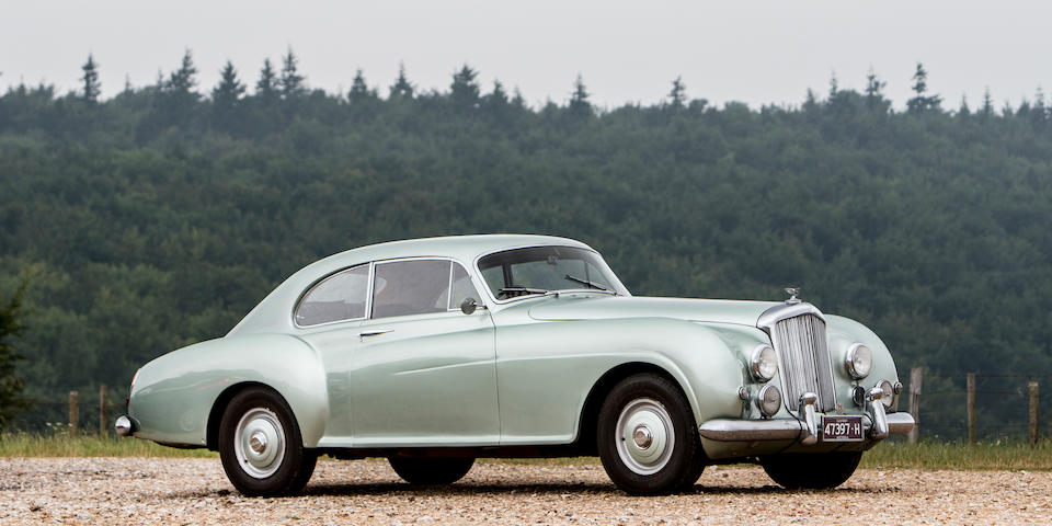 The ex-Georges Fillipinetti and in current ownership since 1975,1952 Bentley R-Type Continental Sports Saloon  Chassis no. BC10A