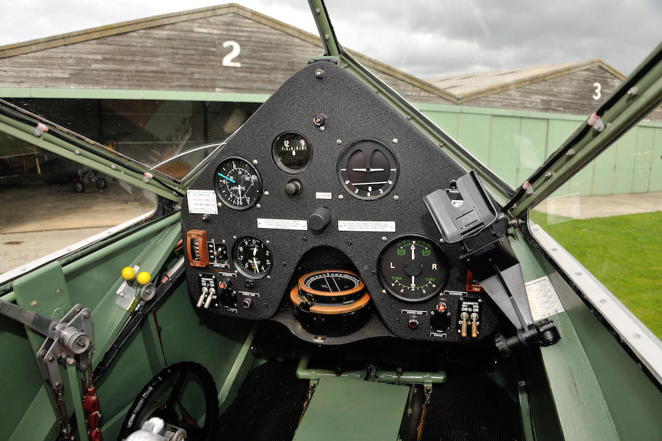 The Sir Torquil Norman,1943 De Havilland D84 Dragon Twin-Engined Cabin Biplane (to Mark 2 Specifications)  Chassis no. 2048