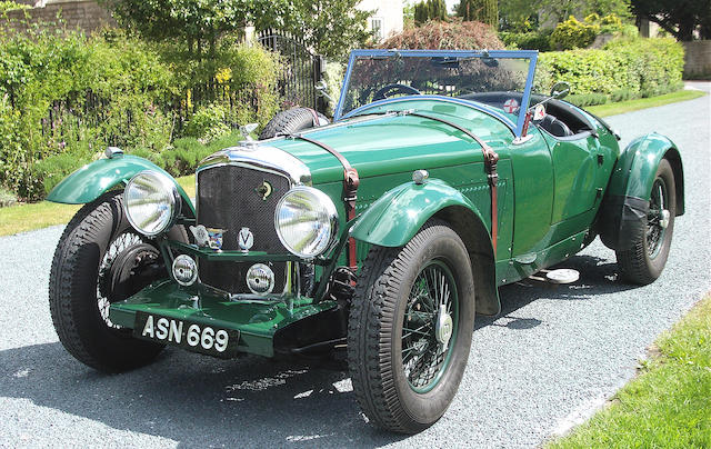 1948 Bentley Mark VI 4 ¼ litre Sportsman's Roadster  Chassis no. B321CD