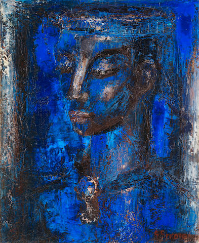Gerard Sekoto (South African, 1913-1993) Congolese Maid