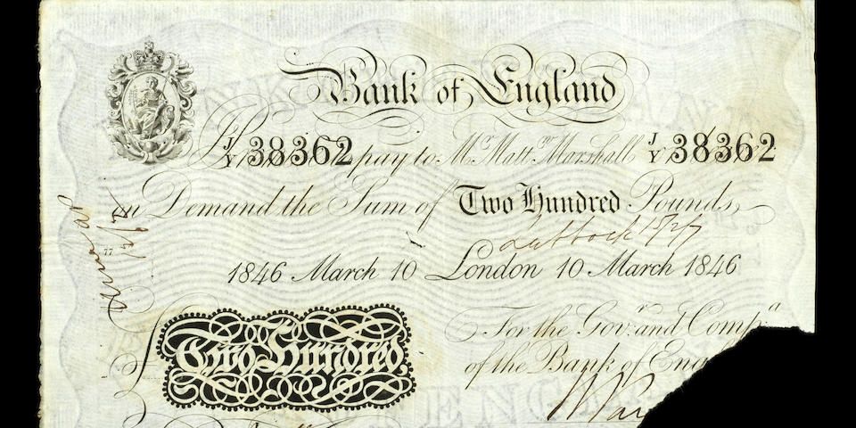 Bank of England, (1)