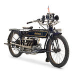 1914 Henderson 1,068cc Model C Four Frame no. B-2005 (casting number) Engine no. 2705