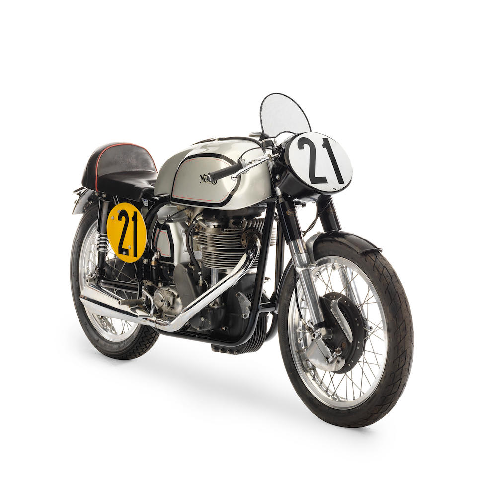 The ex-Bill Beevers, 1955/56 Norton 500cc Manx Racing Motorcycle Frame no. 62511 Engine no. 11M35 62511