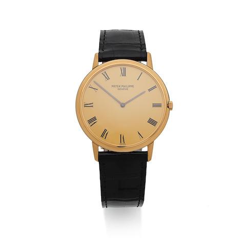Patek Philippe. An 18K gold manual wind wristwatch  Calatrava, Ref: 3588, Manufactured in 1970, Sold 11th May 1972