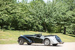 1937 Alvis Short chassis 4.3-Litre Continuation  Chassis no. 14355