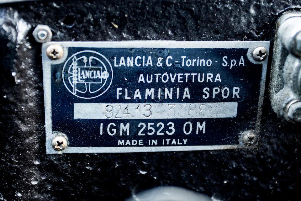 1962 Lancia Flaminia Sport 3C Coupé