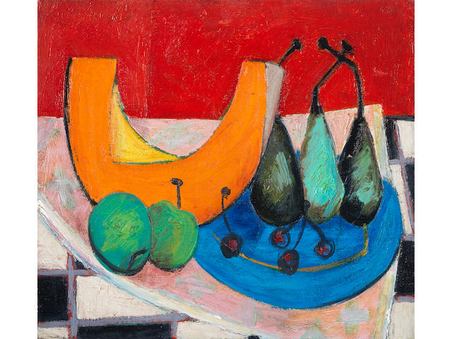 Erik (Frederik Bester Howard) Laubscher (South African, 1927-2013) Still life
