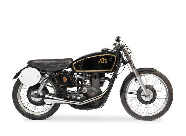 1950 AJS 7R 350cc Racing Motorcycle