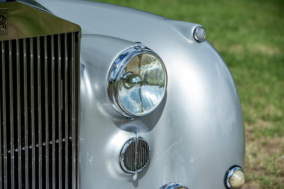 The 1951 Turin Motor Show,1951 Rolls Royce Silver Dawn Fastback Coupé  Chassis no. SCA43