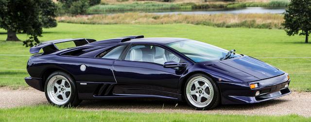 Bonhams 1997 Lamborghini Diablo Sv Coupe Chassis No Za9re37adwla12872