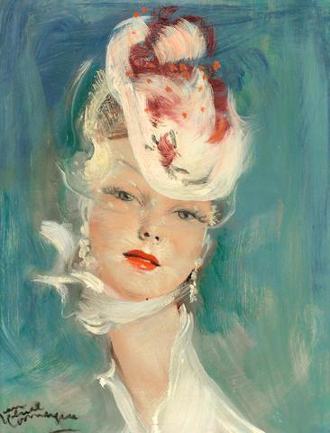 Jean-Gabriel Domergue (1889-1962) Manon