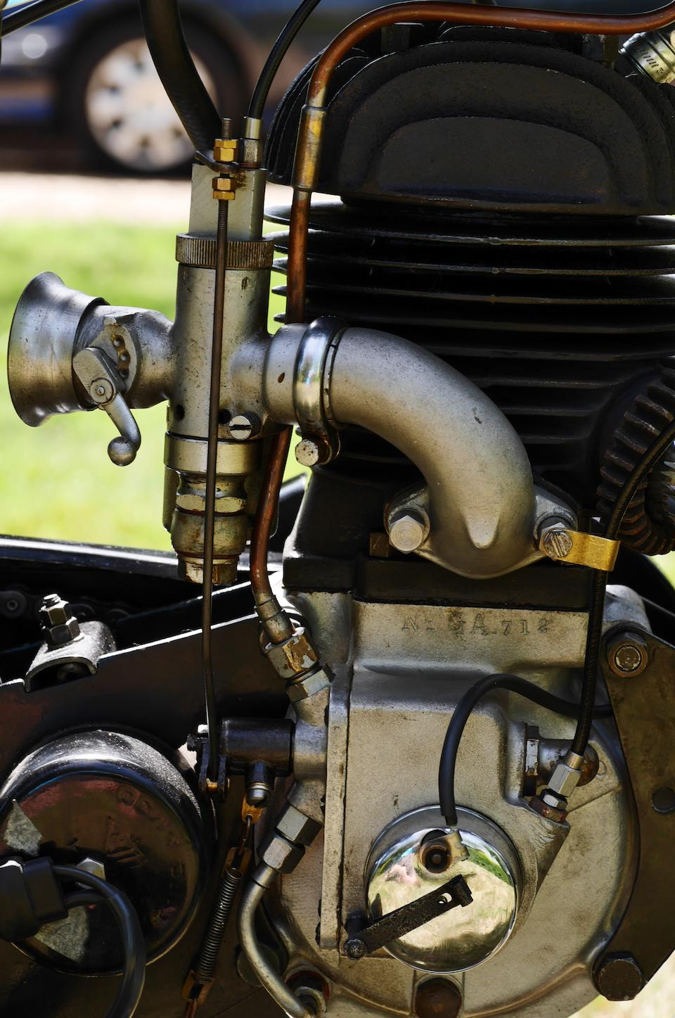 1930 Velocette 249cc GTP Frame no. GP928 Engine no. GA712