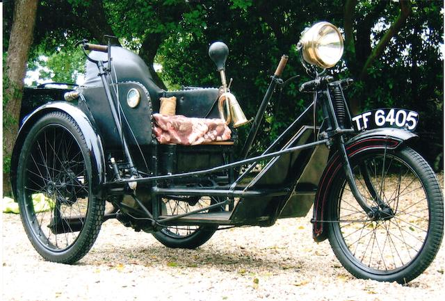 1931 Argson 174cc Invalid Tricycle Frame no. E269 Engine no. E269