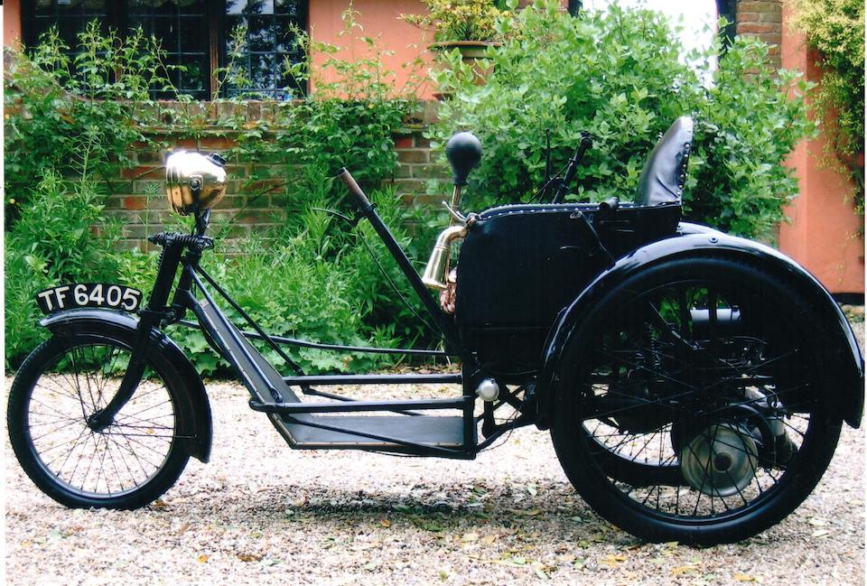 1931 Argson 174cc Invalid Tricycle Frame no. E269 Engine no. E269