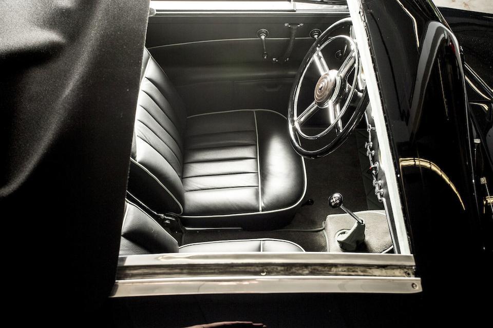 Horch  853 dessin coupé aerodynamic 'Stromlinien' 1937
