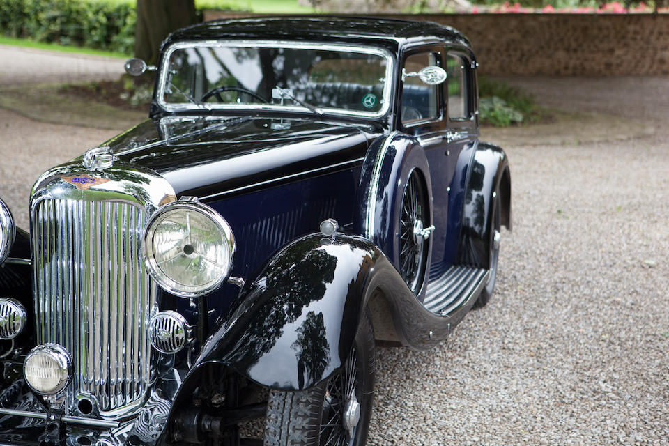 1934  Lagonda M45 Rapide Close-Coupled Pillar-Less Saloon  Chassis no. Z11131
