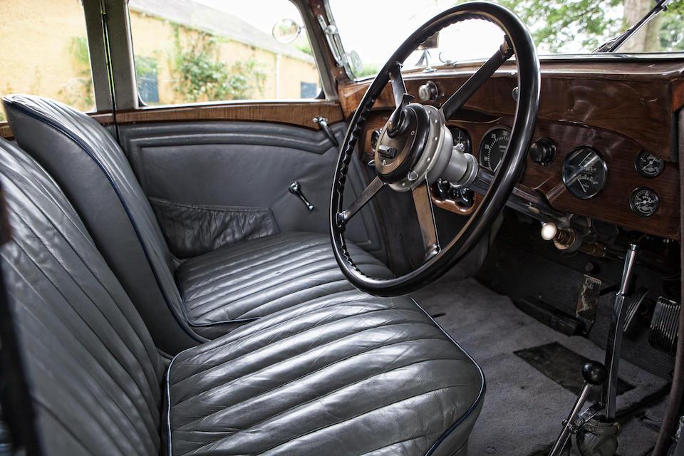 1934  Lagonda M45 Rapide Close-Coupled Pillar-Less Saloon  Chassis no. Z11131