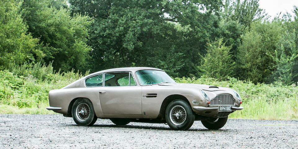 Property of a deceased's estate,1967 Aston Martin DB6 Sports Saloon Project  Chassis no. DB6/3149/R