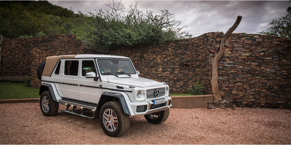 One of only 99 built, Offered from the Mercedes-Benz Factory,2017 Mercedes-Maybach  G650 Landaulet