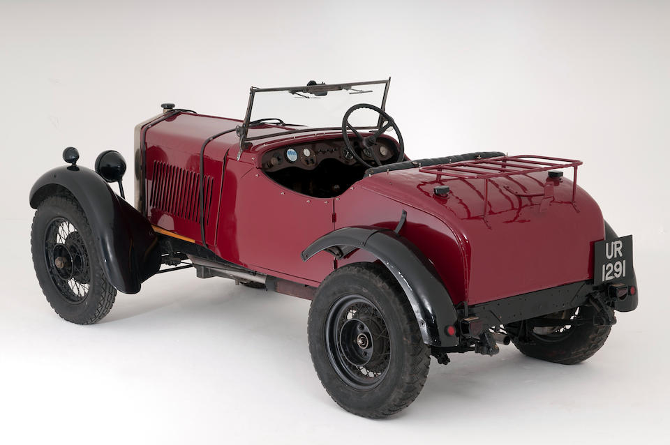 1928 Bayliss-Thomas 12/27hp Two-seater Sports  Chassis no. 9006