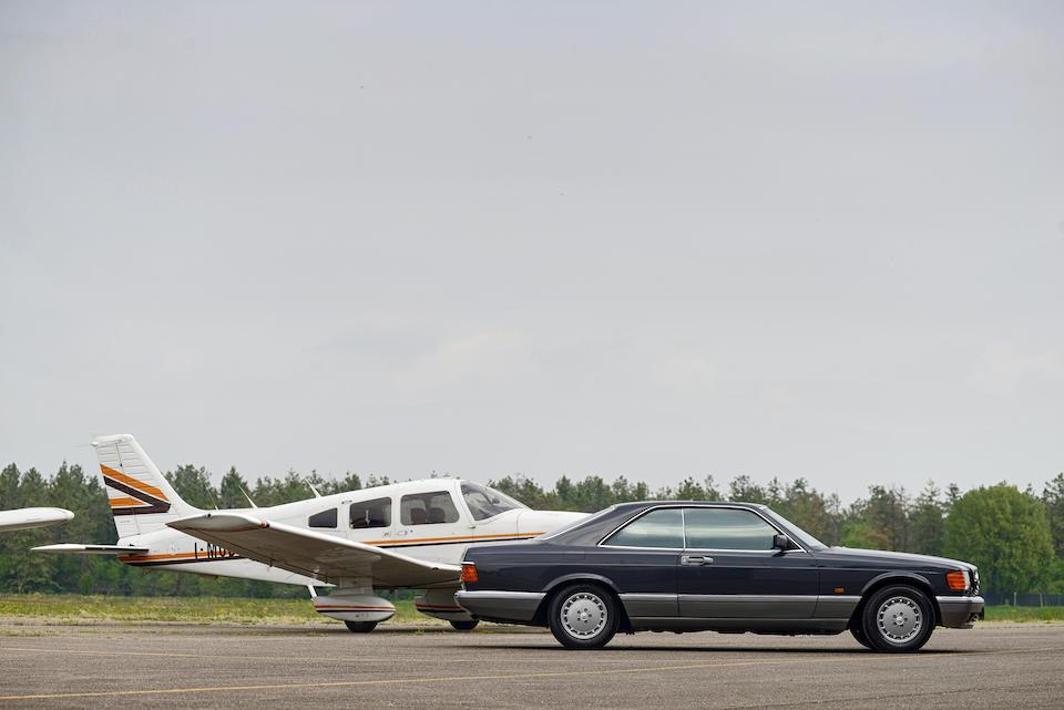 1987 Mercedes-Benz 560 SEC Coupé   Chassis no. WDB1260451A332951
