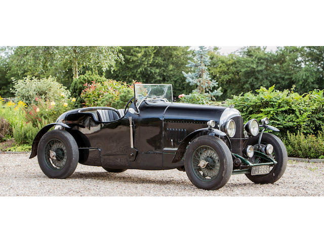 The ex-Lieutenant-Commander Christopher Tomkinson/Darell Berthon,1927 Bentley 3-litre Speed Model Sports Two-Seater  Chassis no. BL1604/DN1731 (see text)