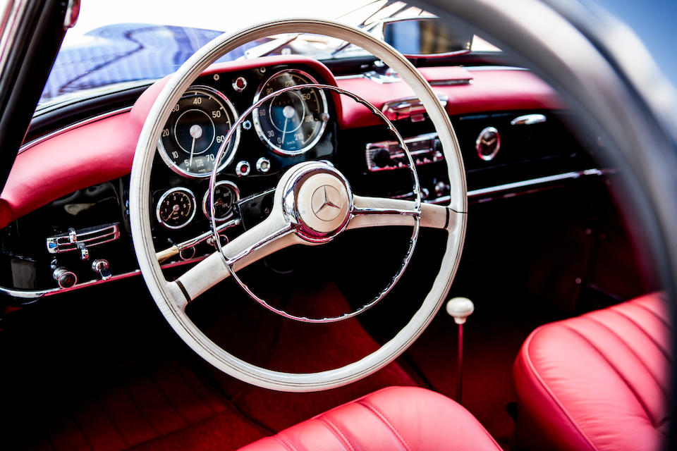 1962 Mercedes-Benz 190 SL Convertible with Hardtop  Chassis no. 121.040-10-025539