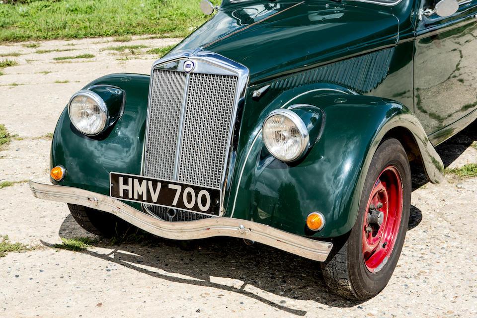 1938 Lancia Aprilia Saloon  Chassis no. 88-4034