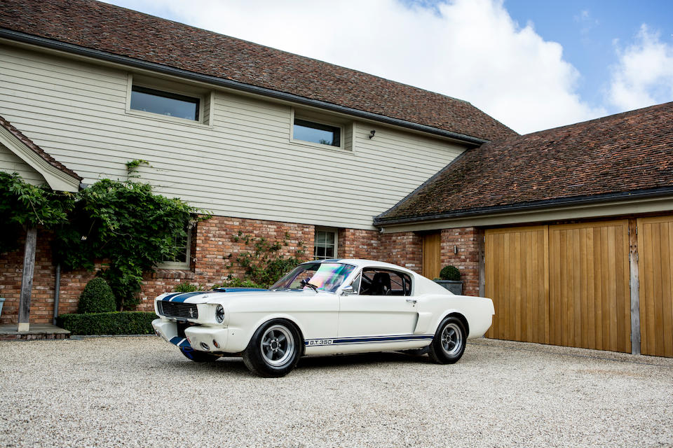 1966 Ford Shelby Mustang GT350 Fastback Coupé  Chassis no. 6R09K1200689 / SFM6S434