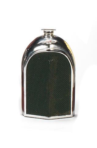 A Bentley radiator decanter by Ruddspeed, British,