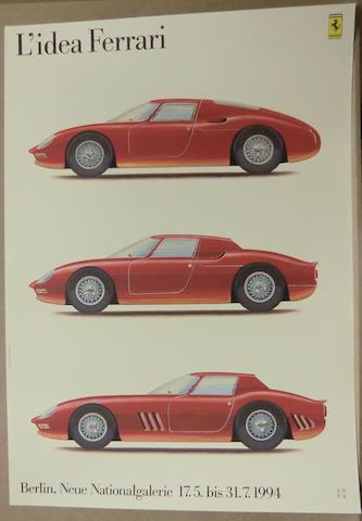 L'Idea Ferrari 60x84cm