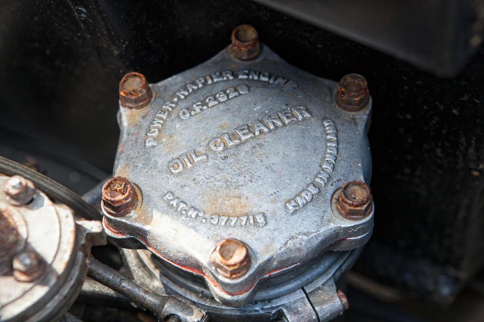 1921 Napier 'Blue Bird' Homage  Chassis no. 14097