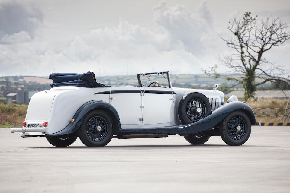 1933 Hispano-Suiza H6B Cabriolet  Chassis no. 12320