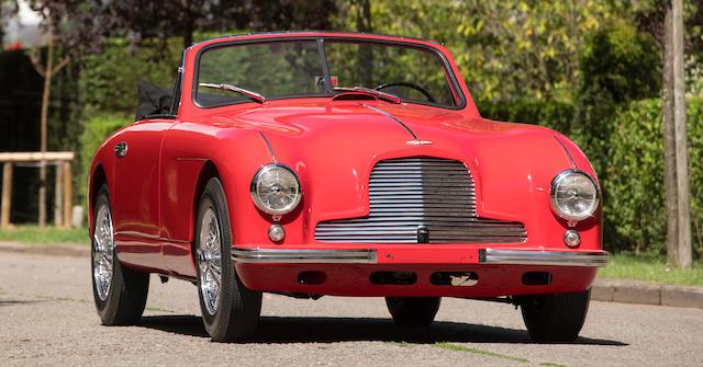 Aston Martin  DB2 Vantage cabriolet 1953