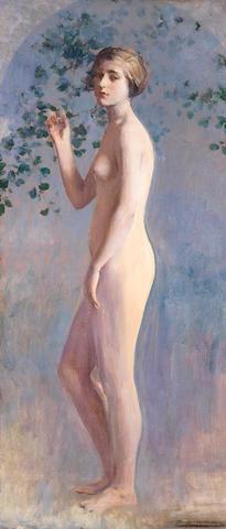 Ramón Casas (Spanish, 1866-1932) Desnudo