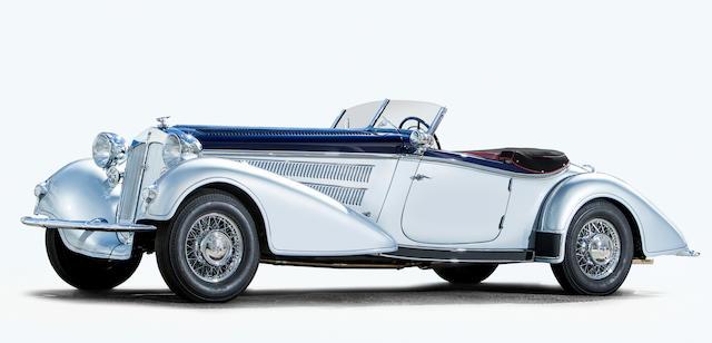 Horch  853 Carrosserie dessin type Spezialroadster 1936