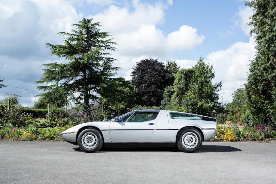 Maserati Bora 4,7 litres coupé 1977