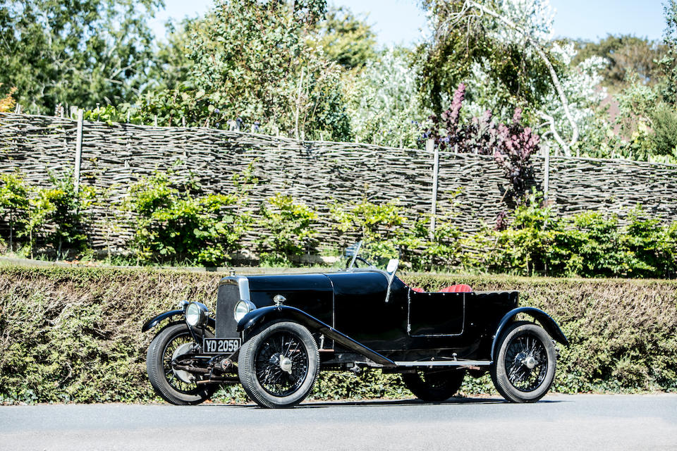 Formerly 'The Burt Special',1926 Aston Martin 1½-Litre 'Cloverleaf' Sports Special  Chassis no. BM1969