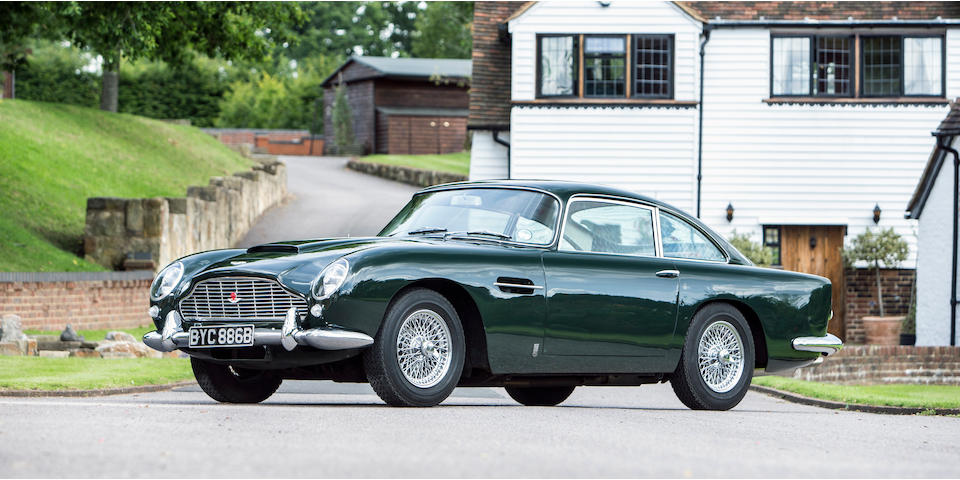 1964 Aston Martin DB5 Sports Saloon  Chassis no. DB51598R
