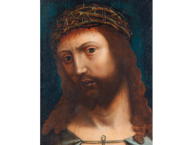 Hispano-Flemish School, 16th Century Ecce Homo